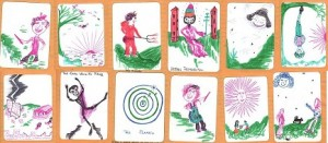 tarot cards by WE-2